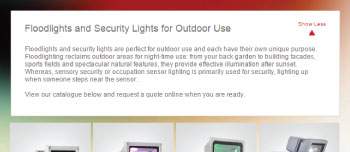 EuroLux - Floodlights and Security Lights