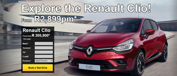 Renault Clio Landing Pages